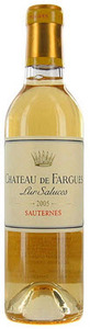 Chateau De Fargues 2005, Sauternes (375ml) Bottle