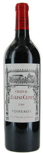 Chateau L'eglise Clinet 2006, Pomerol Bottle