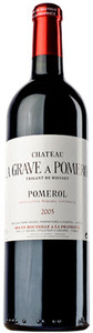 Chateau La Grave 2003, Pomerol Bottle