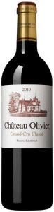 Château Olivier 2001, Ac Pessac Léognan Bottle