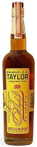 Colonel E.H. Taylor Straight Rye Whiskey, Kentucky, Bottled In Bond, 100 Proof Bottle
