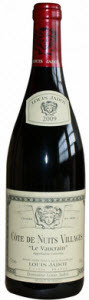 Cote De Nuits Villages Le Vaucrain   Jadot 2009 Bottle