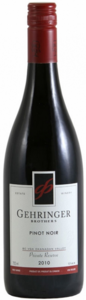 Gehringer Brothers Private Reserve Pinot Noir 2011 Bottle