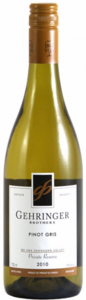 Gehringer Brothers Private Reserve Pinot Gris 2012, VQA Okanagan Valley Bottle