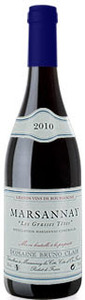Marsannay   Dom Bruno Clair Les Grasses Tetes 2009 Bottle
