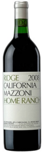 Mazzoni Ranch   Ridge 2007 Bottle