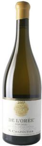M. Chapoutier De L'orée Ermitage Blanc 2009, Ac Hermitage Bottle