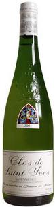 Domaine Des Baumard Clos Saint Yves Savennières 2009, Ac Bottle