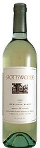 Spottswoode Sauvignon Blanc 2011, Sonoma County/Napa County Bottle