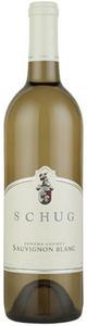 Schug Sauvignon Blanc 2007, Sonoma County Bottle