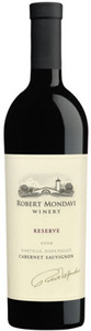 Robert Mondavi Cabernet Sauvignon Reserve 2009, Napa Valley Bottle