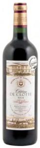 Château De Clotte 2010, Ac Côtes De Castillon Bottle
