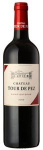 Château Tour De Pez 2009, Ac Saint Estèphe Bottle