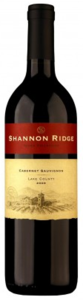 Shannon Ridge Cabernet Sauvignon 2009, Lake County Bottle