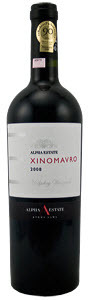 Alpha Estate Hedgehog Vineyard Xinomavro 2008, Pdo Amyndeon Bottle
