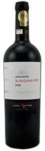 Alpha Estate Hedgehog Vineyard Xinomavro 2008, Pdo Amyndeon Bottle