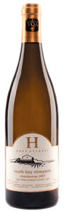 Huff Estates South Bay Chardonnay 2010, VQA Prince Edward County Bottle