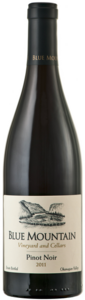Blue Mountain Pinot Noir 2011, Okanagan Valley Bottle