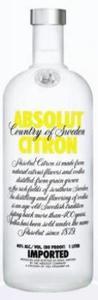 Absolut   Citron Bottle