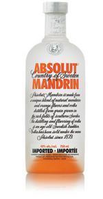 Absolut   Mandrin Bottle