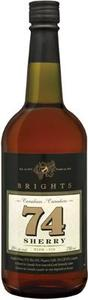 Brights   74 Sherry Bottle
