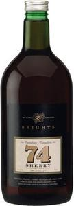 Brights   74 Sherry (2000ml) Bottle