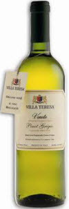 Villa Teresa Organic Chardonnay 2011 Bottle