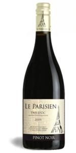 Le Parisien Pinot Noir 2010, Pays D' Oc  Igp Bottle