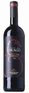 Brunello Di Montalcino   Castiglion Del Bosco Campo Drago 2001 Bottle