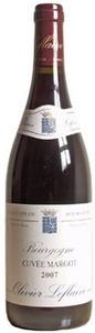 Bourgogne   Olivier Leflaive Cuvee Margot 2010 Bottle