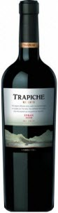 Trapiche Reserve Syrah 2011, Mendoza Bottle