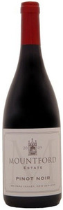 Mountford Estate Pinot Noir 2009, Waipara Valley Bottle
