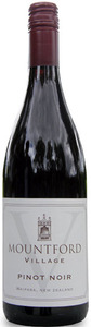 Mountford Village Pinot Noir 2009, Waipara Valley Bottle