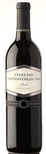 Sterling Vintner's Collection Merlot 2010, Central Coast, California Bottle