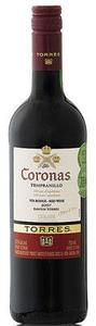 Torres Coronas Tempranillo 2009, Catalonia, Spain Bottle