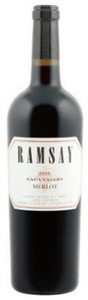 Ramsay Merlot 2010, Napa Valley Bottle