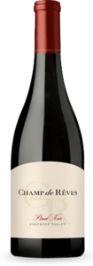 Champ De Rêves Pinot Noir 2010, Anderson Valley Bottle