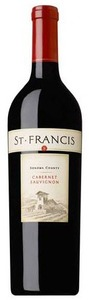 St. Francis Cabernet Sauvignon 2008, Sonoma County Bottle