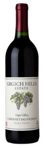 Grgich Hills Estate Cabernet Sauvignon 2009, Napa Valley Bottle