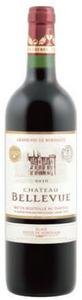 Château Bellevue 2010, Ac Côtes De Bordeaux, Blaye Bottle