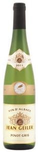 J. Geiler Médaillé Pinot Gris 2011, Ac Alsace Bottle