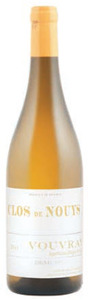 Clos De Nouys Demi Sec Vouvray 2011 Bottle