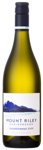 Mount Riley Chardonnay 2011, Marlborough, South Island Bottle