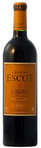 Château Escot 2009, Ac Médoc Bottle