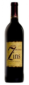7 Deadly Zins Old Vine Zinfandel 2010, Lodi Bottle