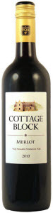 Cottage Block Merlot 2011, Niagara Peninsula Bottle