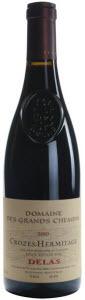 Delas Domaine Des Grands Chemins Crozes Hermitage 2010 Bottle