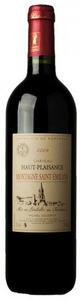 Château Haut Plaisance 2003, Ac Montagne Saint émilion Bottle