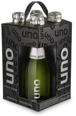 Santa Julia Uno Brut Sparkling, Mendoza (4 X 187ml) (200ml) Bottle
