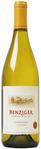 Benziger Chardonnay 2010, Carneros Bottle